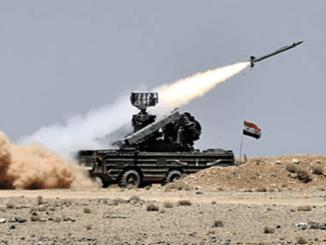 Pertahanan Udara Suriah Cegat Serangan Drone-drone Tak Dikenal di Salamiyah