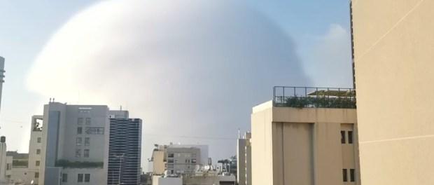 Ledakan Beirut Mirip Ledakan Misterius di SuriahLedakan Beirut Mirip Ledakan Misterius di Suriah