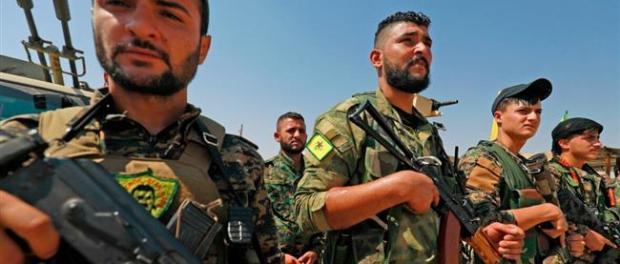 Agen Intelijen UEA Latih Militan YPG di Utara dan Timur Suriah