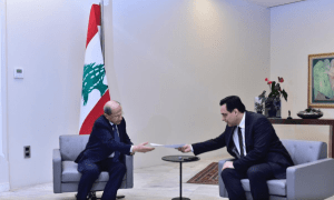 Presiden Aoun Terima Pengunduran Diri PM LebanonPresiden Aoun Terima Pengunduran Diri PM Lebanon