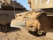 Video: Sejumlah Tank Israel Secara Misterius Ditinggalkan di Dataran Tinggi Golan