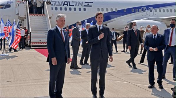 Kedatangan Delegasi AS-Israel Disambut Ledakan di Abu Dhabi