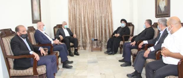 Pemimpin Hamas Temui Sekjen Hizbullah Bahas Perluasan Hubungan