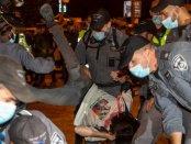 VIDEO: Polisi Israel Tangkap 12 Demonstran dalam Unjuk Rasa Anti-Netanyahu di Yerusalem