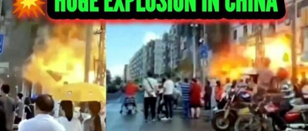 VIDEO: Detik-detik Ledakan Besar Hantam kota Zhuhai, China