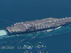 """Komandan AL Iran: Kami Pantau Kapal Induk AS """"Nimitz"""" dengan Drone"""