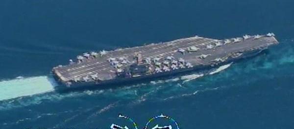 Komandan AL Iran: Kami Pantau Kapal Induk AS