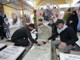 Hashd Al-Shaabi Temukan Bahan Peledak Dekat Makam Abu Mahdi Muhandis di Najaf