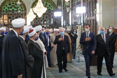 Presiden Suriah, Bashar Assad Rayakan Maulid Nabi