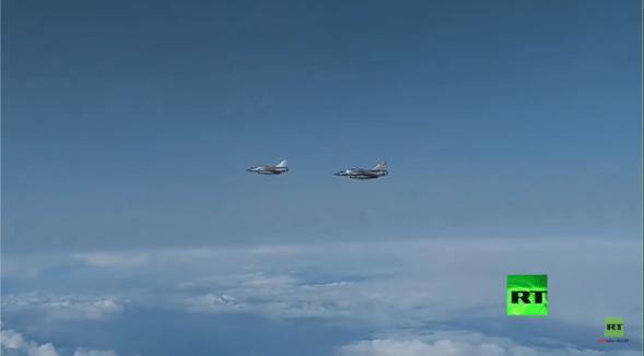 Video: SU-27 Rusia Usir 2 Jet Tempur Prancis di Laut Hitam