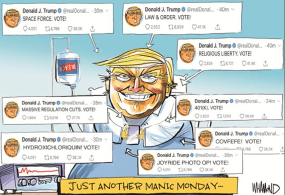 Tinggalkan RS Maryland dalam Waktu Singkat, Rumor Trump Bohong soal Covid Menguat