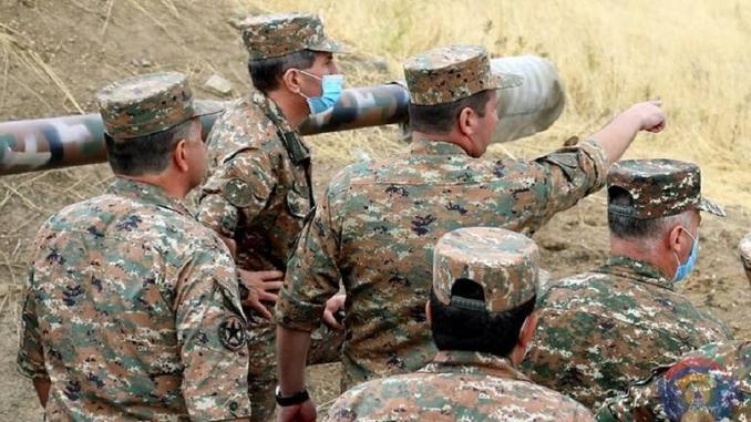 Panglima Angkatan Darat Karabakh Terluka