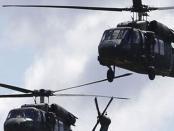 Helikopter AS Lancarkan Serangan Udara ke Pedesaan Deir Ezzor, Culik 3 Warga