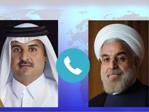 Rouhani ke Emir Qatar: Zionis Biang Kerok Ketidakstabilan Kawasan