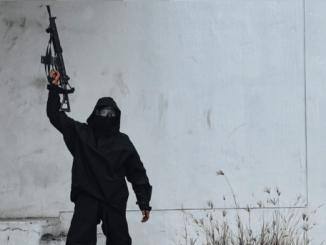 Mencekam, Video Amatir Baku Tembak di Kota Wina Dekat Sinagoge