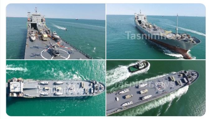 Iran Luncurkan Kapal Perang Berukuran Besar