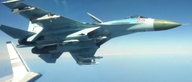 Su-27 Rusia Cegat Pesawat Mata-mata AS di Atas Laut Hitam