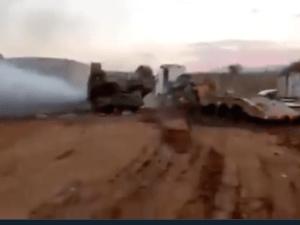 Tragis, Video Detik-detik Tank Israel Terjungkal saat Latihan Perang di Lembah Jordan