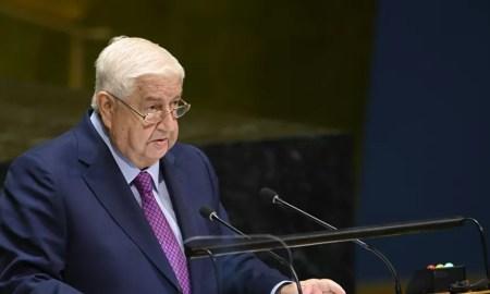 Menteri Luar Negeri Suriah Walid Muallem Meninggal Dunia