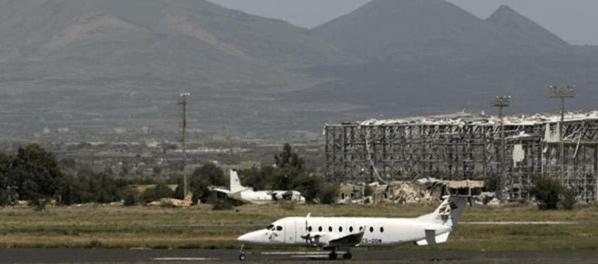 Serangan Koalisi Saudi ke Bandara Sana'a Untuk Lumpuhkan Yaman