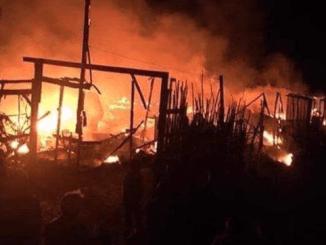 Lebanon Tangkap 8 Tersangka Pembakar Kamp Pengungsi Suriah