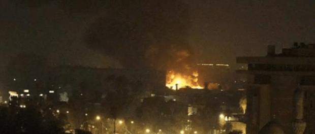 BreakingNews! Kedubes AS di Baghdad Dihujani Roket