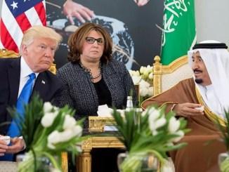 Trump Bahas Keamanan Regional dan Qatar dengan Raja Salman