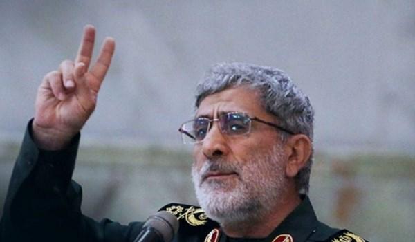 Jenderal Qa'ani: Pembalasan atas Pembunuhan Soleimani Bisa Muncul dari Dalam Amerika Sendiri
