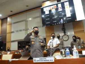 Aklamasi, Komisi III DPR RI Setujui Komjen Listyo Sigit Jadi Kapolri