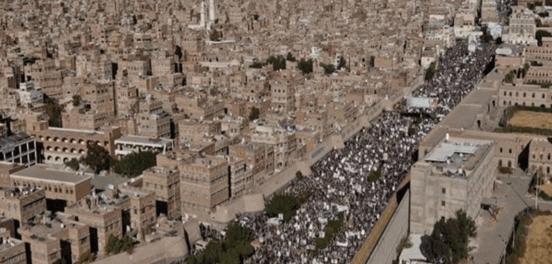 Ratusan Ribu Rakyat Yaman Demo Tolak Terorisme AS