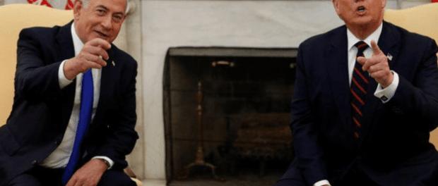 Netanyahu Hapus Foto Trump dari Header Twitternya