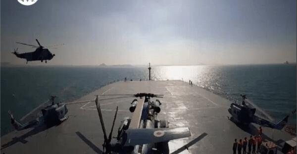 Lindungi Kapal Dagang, Iran Kembali Patroli di Laut Merah
