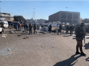 Terjadi Ledakan di Timur Baghdad