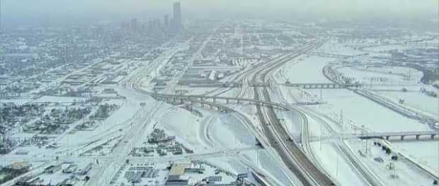 Badai Musim Dingin Ekstrem Landa AS, Cuaca Beku Hampir di Seluruh Negeri