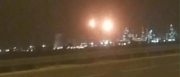 Ledakan Besar Terjadi di Pabrik Kimia Israel di Haifa