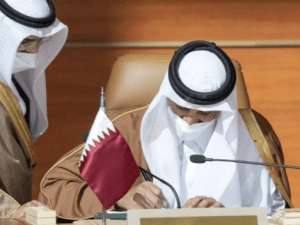 UEA-Qatar Gelar Pertemuan Pertama Pasca Rekonsiliasi