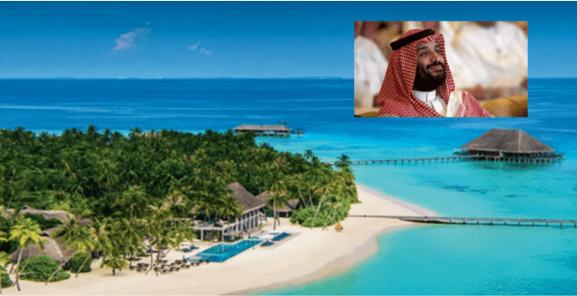 Pesta Pora Putra Mahkota Saudi di Resort Maladewa