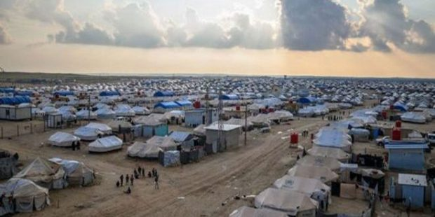 4 Tewas, 18 Terluka dalam Kebakaran di Kamp Al-Hawl, Hasakah