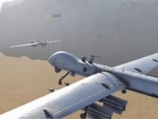 Drone Yaman Bombardir Pangkalan Udara Raja Khalid di Arab Saudi