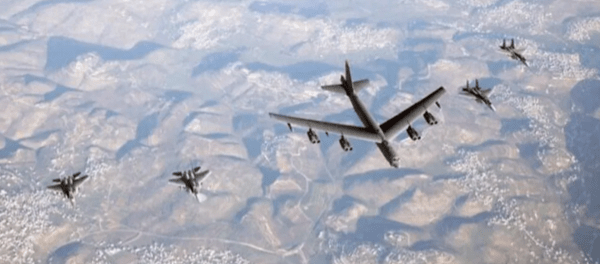 F-15 Israel Kawal 2 Pembom B-52 AS ke Timur Tengah