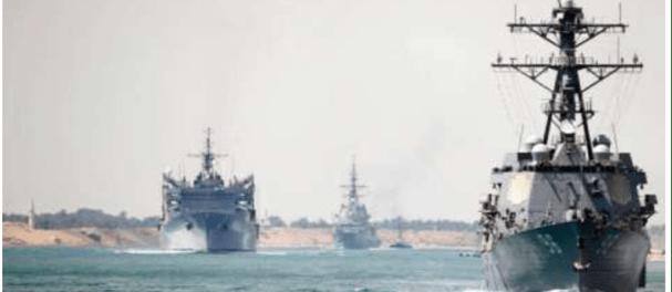 Pentagon: Penutupan Terusan Suez Pengaruhi Aktivitas Militer AS