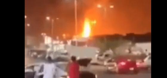 Breaking! Kebakaran Hebat di Terminal Minyak Saudi