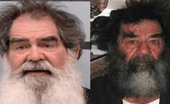 Polisi Amerika Tangkap 'Saddam Hussein' di Texas