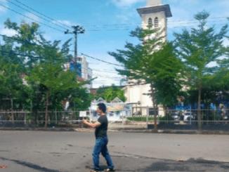 Breaking News: Ledakan Guncang Depan Gereja Katedral Makasar
