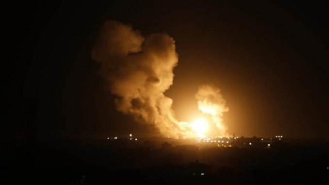 Balas Roket Palestina, Israel Bombardir Jalur Gaza