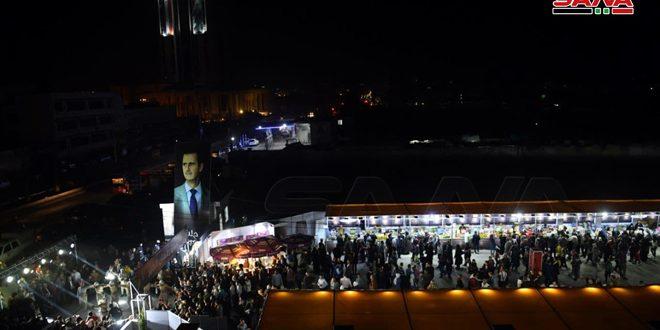 Meriahnya Pasar Ramadan al-Khair di Aleppo, Suriah