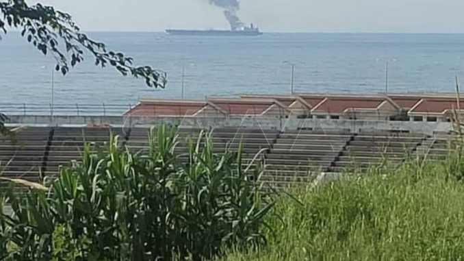Tanker Minyak Iran untuk Suriah Diserang, Api Berhasil Dipadamkan