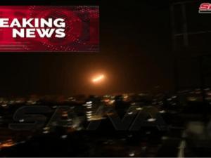 BreakingNews! Pertahanan Udara Suriah Tanggapi Serangan Israel di Sekitar Damaskus