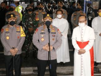 Malam Paskah, Kapolri Roadshow ke Sejumlah Gereja di Jakarta