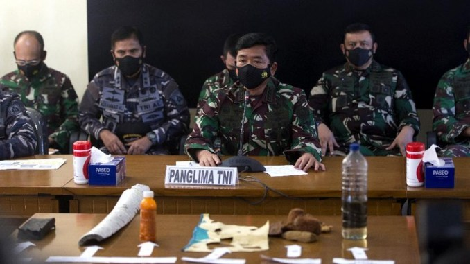 Ada Bukti Kuat, Panglima TNI: KRI Nanggala-402 Tenggelam
